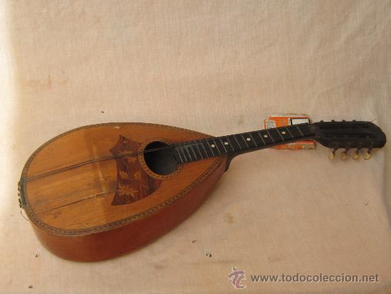 Instrumentos musicales: MANDOLINA ANTIGUA - Foto 6 - 37856551
