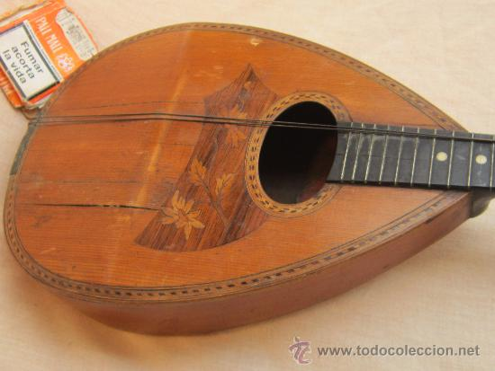 Instrumentos musicales: MANDOLINA ANTIGUA - Foto 8 - 37856551