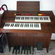 Instrumentos musicales: ORGANO BALEANI, DOS TECLADOS Y BAJOS, EN MUEBLE. Lote 37870268