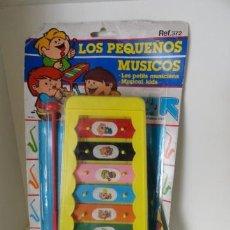 Instrumentos musicales: SILOFONO LOS PEQUEÑOS MUSICOS REF 372 MEDITERRANCO EN BLISTER. Lote 38181630