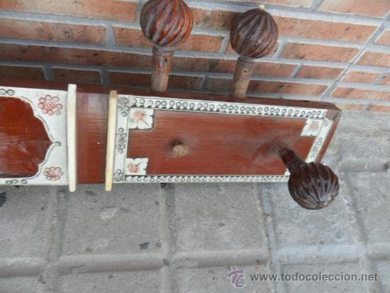 Instrumentos musicales: guitarra larga con incrustaciones de hueso - Foto 6 - 38599356