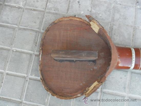 Instrumentos musicales: guitarra larga con incrustaciones de hueso - Foto 7 - 38599356