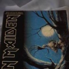 Instrumentos musicales: IRON MAIDEN FEAR OF THE DARK. LIBRO DE PARTITURAS PARA GUITARRA NOTA A NOTA 1992. Lote 38919598