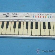 Instrumentos musicales: ANTIGUO PIANO ORGANO JUGUETE DE INICIACION MARCA CASIO PT 1. Lote 40811198