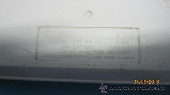 Instrumentos musicales: ANTIGUO PIANO ORGANO JUGUETE DE INICIACION MARCA CASIO PT 1 - Foto 6 - 40811198