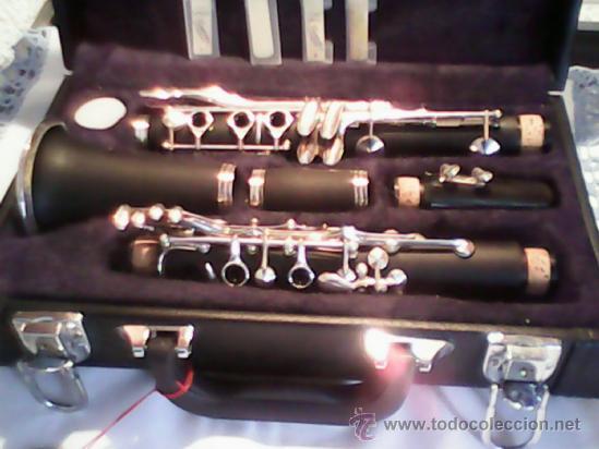 Instrumentos musicales: ANTIGUO Y ESPLENDIDO CLARINETE NEGRO SOPRARO DOS ANOS 50 , 60.MARCA ALEMANA - Foto 2 - 39095301