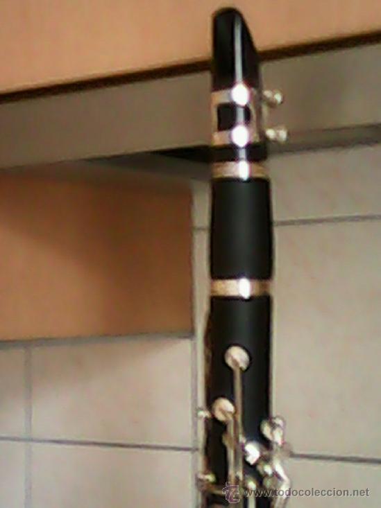 Instrumentos musicales: ANTIGUO Y ESPLENDIDO CLARINETE NEGRO SOPRARO DOS ANOS 50 , 60.MARCA ALEMANA - Foto 5 - 39095301
