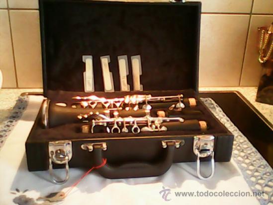 Instrumentos musicales: ANTIGUO Y ESPLENDIDO CLARINETE NEGRO SOPRARO DOS ANOS 50 , 60.MARCA ALEMANA - Foto 9 - 39095301