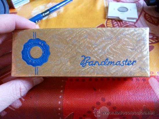 Instrumentos musicales: ANTIGUA ARMONICA MARCA BANDMASTER, RARA - Foto 7 - 39122893