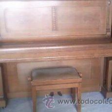 Instrumentos musicales: PRECIOSO PIANO KRAUSS KOBLENZ EN CON BANCO ORIGINAL DE PIANISTA.. Lote 39264738