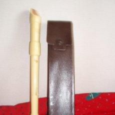 Instrumentos musicales: 5125- FLAUTA ALEMANA HONNER DESMONTABLE, CON FUNDA SIMIL PIEL. Lote 39473232