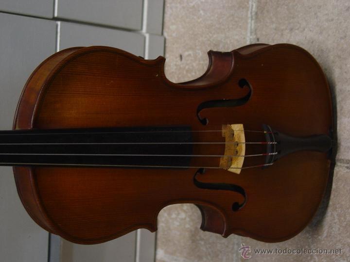 Instrumentos musicales: VIOLIN JACOBUS STEINER.Coipia francesa 100 años. - Foto 2 - 39503676