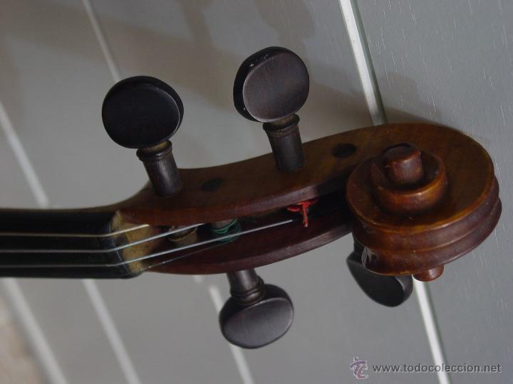 Instrumentos musicales: VIOLIN JACOBUS STEINER.Coipia francesa 100 años. - Foto 4 - 39503676