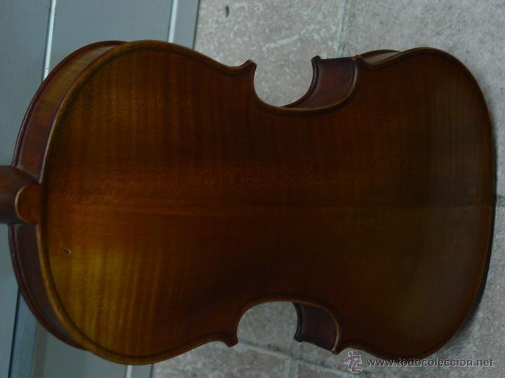 Instrumentos musicales: VIOLIN JACOBUS STEINER.Coipia francesa 100 años. - Foto 3 - 39503676