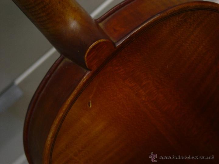 Instrumentos musicales: VIOLIN JACOBUS STEINER.Coipia francesa 100 años. - Foto 6 - 39503676