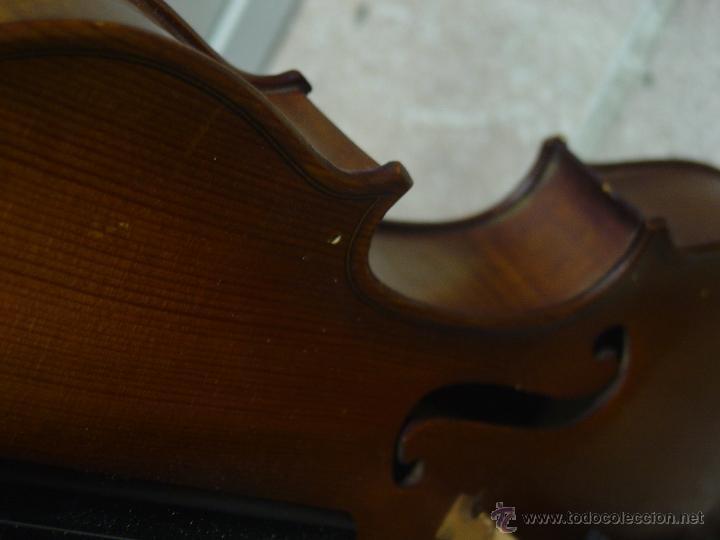 Instrumentos musicales: VIOLIN JACOBUS STEINER.Coipia francesa 100 años. - Foto 5 - 39503676