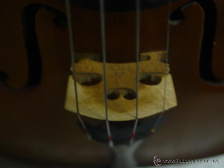 Instrumentos musicales: VIOLIN JACOBUS STEINER.Coipia francesa 100 años. - Foto 7 - 39503676