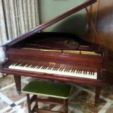 Instrumentos musicales: PIANO STECK DE MEDIA COLA O COLÍN. MUY CUIDADO. Lote 39879567