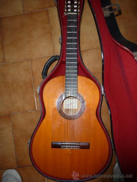 GUITARRA ESPAÑOLA HIJOS DE PEDRO MALDONADO, DE 1979 (Música - Instrumentos Musicales - Guitarras Antiguas)