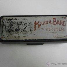 Instrumentos musicales: ESTUCHE DE ARMONICA VACIO MARINE BAND M.HONER HARMONICA-22. Lote 39934587