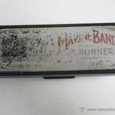 Instrumentos musicales: ESTUCHE DE ARMONICA VACIO MARINE BAND M.HONER HARMONICA-32. Lote 39934788