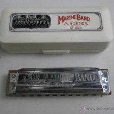 Instrumentos musicales: HARMONICA CON ESTUCHE MARINE BAND M.HOHNER LETRA C HARMONICA-47. Lote 39950919