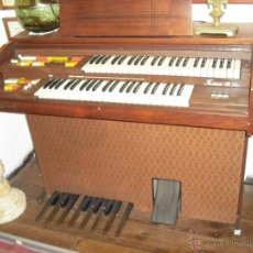 Instrumentos musicales: ORGANO DOBLE TECLADO FUNCIONADO PERFECTO CON DOCUMENTACIÓN. Lote 40218705