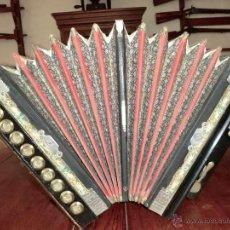 Instrumentos musicales: BONITO ACORDEON DEL SIGLO XIX. Lote 40242675