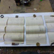 Instrumentos musicales: 4 PLANOS DE CONSTRUCCION DE VIOLINES. Lote 40385257