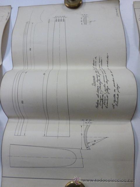 Instrumentos musicales: 4 Planos de construccion de violines - Foto 4 - 40385257