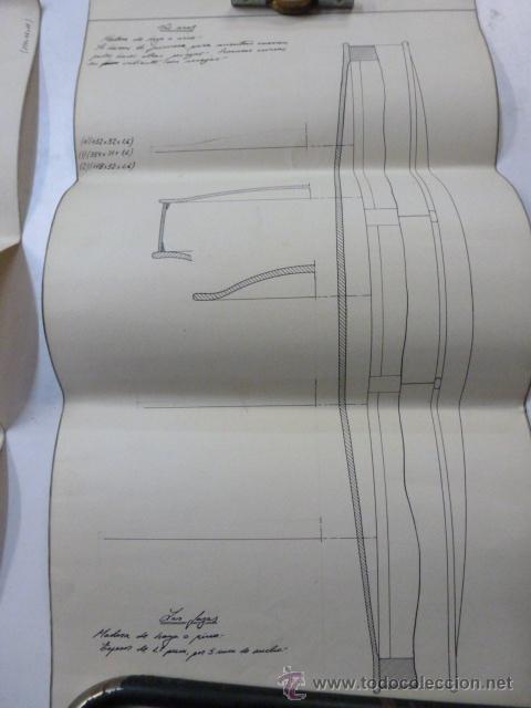 Instrumentos musicales: 4 Planos de construccion de violines - Foto 5 - 40385257