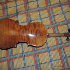 Instrumentos musicales: VIOLIN ANTIGUO SIGLO XIX HECHO A MANO SIN NINGUNA RAJA NI RESTAURACION. IMPECABLE. PRECIOSO.. Lote 171534750