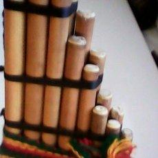 Instrumentos musicales: ANTARA INSTRUMENTO DE MÚSICA DE BOLIVIA.., SELLADO,TUKA MARKA.STA CRUZ.BOLIVIA.. Lote 40865742