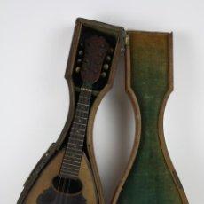 Instrumentos musicales: LAUD DE 8 CUERDAS EN SU CAJA ORIGINAL - MEDIANOS DEL S.XIX. Lote 40901123