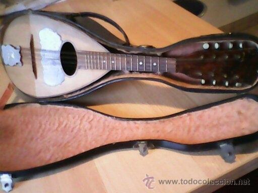 Instrumentos musicales: ANTIGUA Y FANTASTICA MANDOLINA, CON SU CAJA ORIGINAL.DOS ANOS 40.WITSCHI-BENGUEREL,MAD SUISSE. - Foto 2 - 41207154