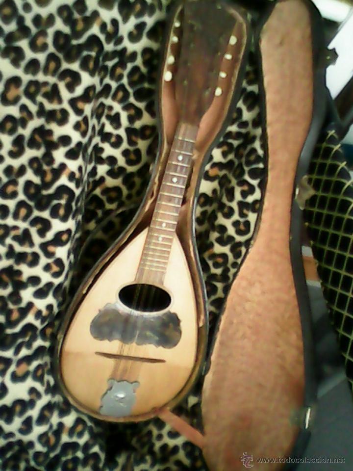 Instrumentos musicales: ANTIGUA Y FANTASTICA MANDOLINA, CON SU CAJA ORIGINAL.DOS ANOS 40.WITSCHI-BENGUEREL,MAD SUISSE. - Foto 6 - 41207154