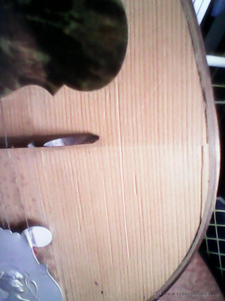 Instrumentos musicales: ANTIGUA Y FANTASTICA MANDOLINA, CON SU CAJA ORIGINAL.DOS ANOS 40.WITSCHI-BENGUEREL,MAD SUISSE. - Foto 9 - 41207154