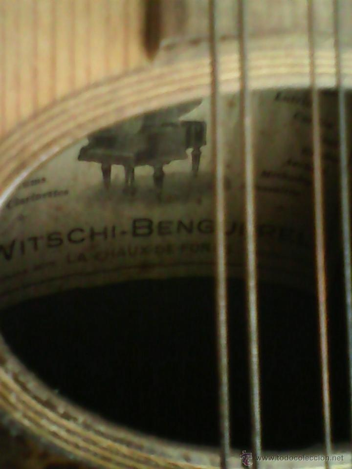 Instrumentos musicales: ANTIGUA Y FANTASTICA MANDOLINA, CON SU CAJA ORIGINAL.DOS ANOS 40.WITSCHI-BENGUEREL,MAD SUISSE. - Foto 11 - 41207154