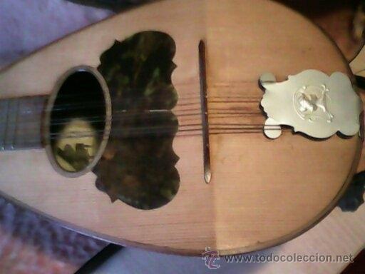 Instrumentos musicales: ANTIGUA Y FANTASTICA MANDOLINA, CON SU CAJA ORIGINAL.DOS ANOS 40.WITSCHI-BENGUEREL,MAD SUISSE. - Foto 19 - 41207154