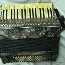 Instrumentos musicales: ACORDEÓN HOHNER, AÑOS 40. Lote 41226530