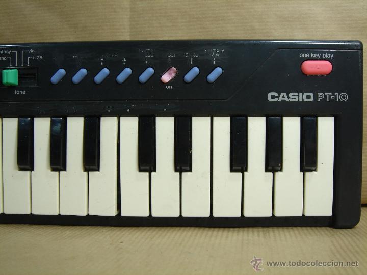 ORGANO TECLADO PIANO -CASIO PT-10 - JAPAN 80 S ¡¡¡FUNCIONA ¡¡ PT10 (Música - Instrumentos Musicales - Pianos Antiguos)