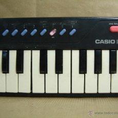 Instrumentos musicales: ORGANO TECLADO PIANO -CASIO PT-10 - JAPAN 80 S ¡¡¡FUNCIONA ¡¡ PT10. Lote 41540639