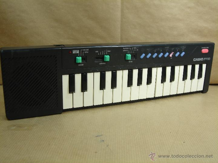 Instrumentos musicales: ORGANO TECLADO PIANO -CASIO PT-10 - JAPAN 80 s ¡¡¡FUNCIONA ¡¡ PT10 - Foto 2 - 41540639