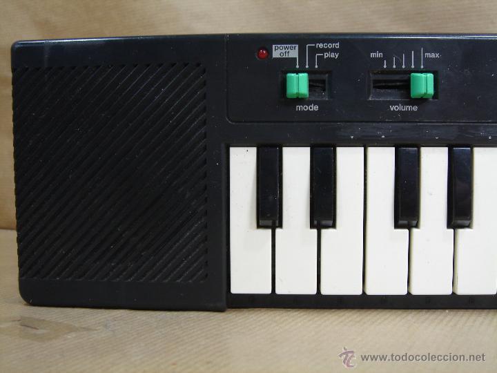 Instrumentos musicales: ORGANO TECLADO PIANO -CASIO PT-10 - JAPAN 80 s ¡¡¡FUNCIONA ¡¡ PT10 - Foto 3 - 41540639