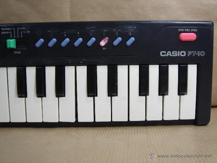 Instrumentos musicales: ORGANO TECLADO PIANO -CASIO PT-10 - JAPAN 80 s ¡¡¡FUNCIONA ¡¡ PT10 - Foto 4 - 41540639