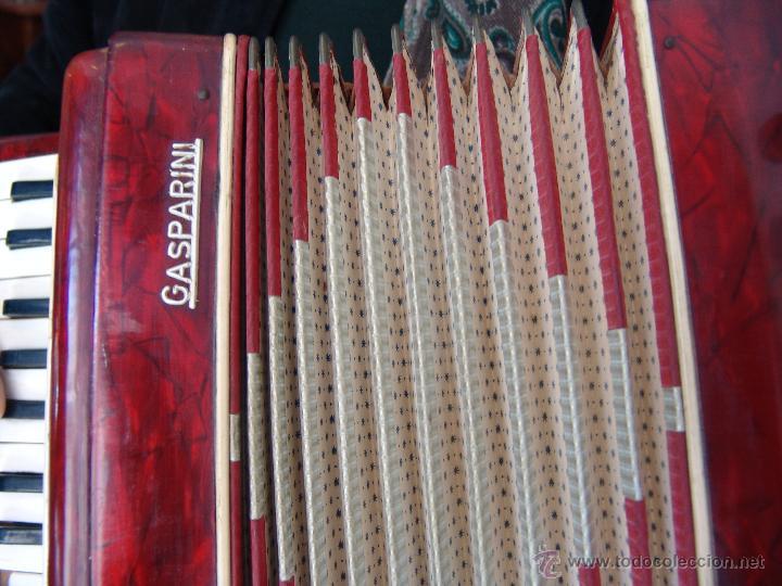 Instrumentos musicales: ANTIGUO ACORDEÓN PEQUEÑO - Foto 5 - 41686176