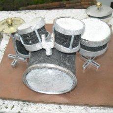 Instrumentos musicales: BATERÍA MINIATURA PRECIOSA. Lote 37235252