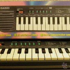 Instrumentos musicales: ELECTRONIC KEYBOARD SA-2,OR,CASIO,TECLADO,A ESTRENAR,AÑOS 80,FUNCIONANDO. Lote 41807880