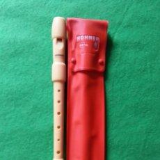 Instrumentos musicales: FLAUTA HONNER 9516. Lote 42111659