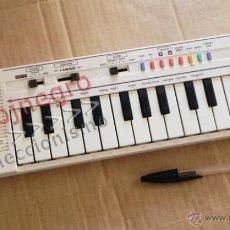 Instrumentos musicales: TECLADO CASIO PT-1 BLANCO INSTRUMENTO MUSICAL - NO FUNCIONA MÚSICA AÑOS 80 VINTAGE RETRO PT1 MÁQUINA. Lote 42155177